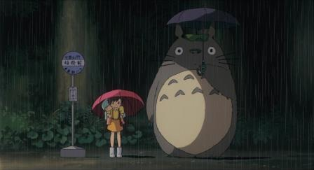 Anime film, My Neighbour Totoro, (G) 86mins