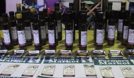 Award winning Homeleigh Grove olive oil - photo by LFW