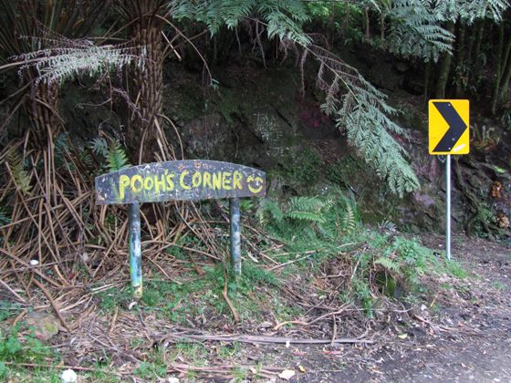 Pooh's Corner on Clyde Mountain