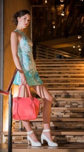Grace handbag in watermelon