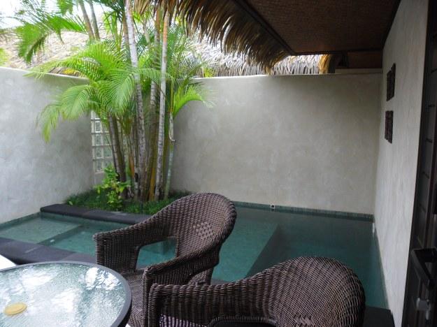 Te Manava plunge pool
