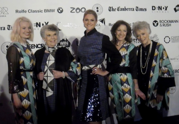 Character fashions for the 'young at heart' from FASHFEST 2014
