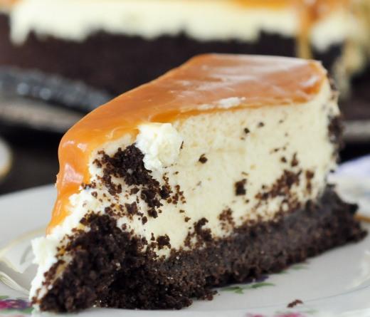 GF Baileys Irish Cream Cheesecake