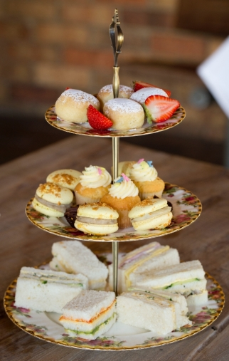Scrumptious high tea at Tallagandra Hill Winery