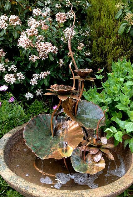 Lotus blossom fountain