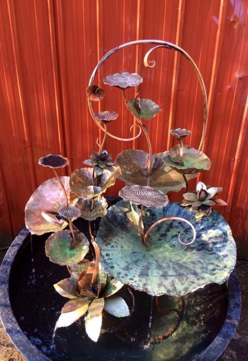 Annie Storey Water fountains and garden art