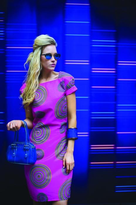 Popping colour by Miranda Sakhino. Model: Lydia Honan, Hair and makeup: www.sakhino.com, Photographer: Andrew Kiyingi