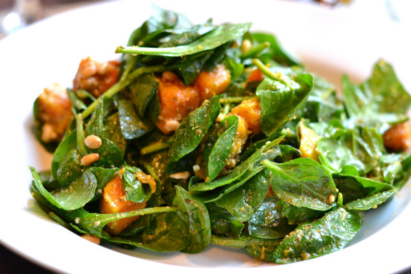 Eating well Spicy Pumpkin Salad