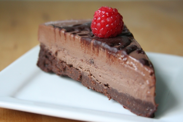 GF Choc brownie ice-cream cake
