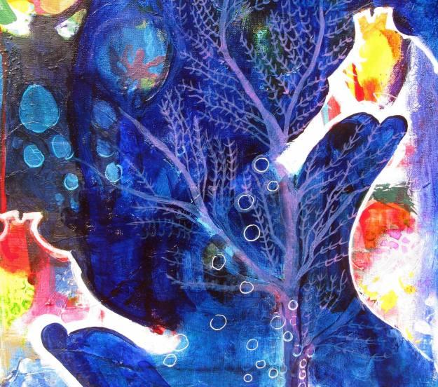 Fiona Hill Underwater seahorses