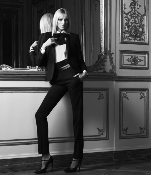 Le Smoking - image courtesy ysl.com