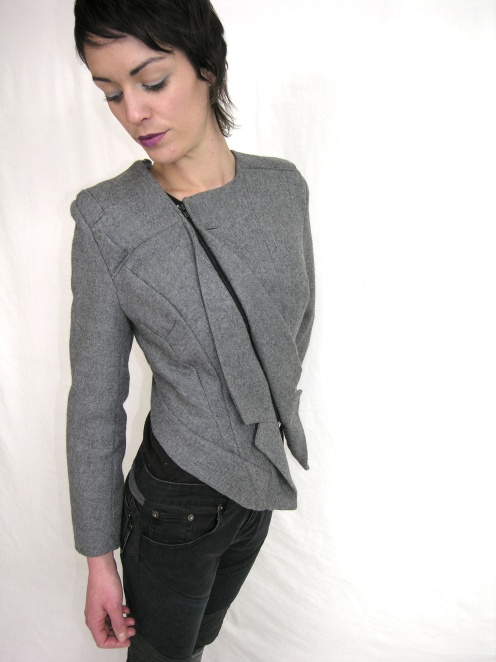Stunning upcycled jacket from Melanie Child