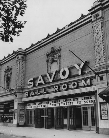 The original Savoy Ballroom in New York