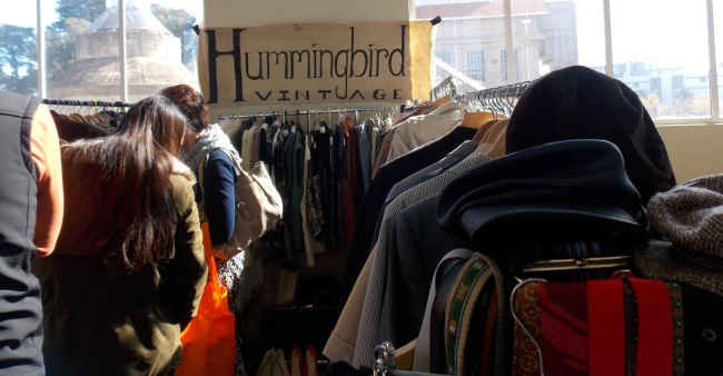 Flat out at Hummingbird Vintage