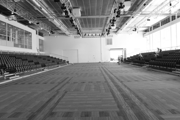 At 45 metres long, the catwalk is the biggest Canberra has ever seen