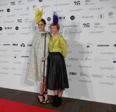 Sovata (R) - showcased her collection on Night 3