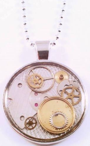 Silver Sparrow: more amazing upcycled jewellery using watch cogs