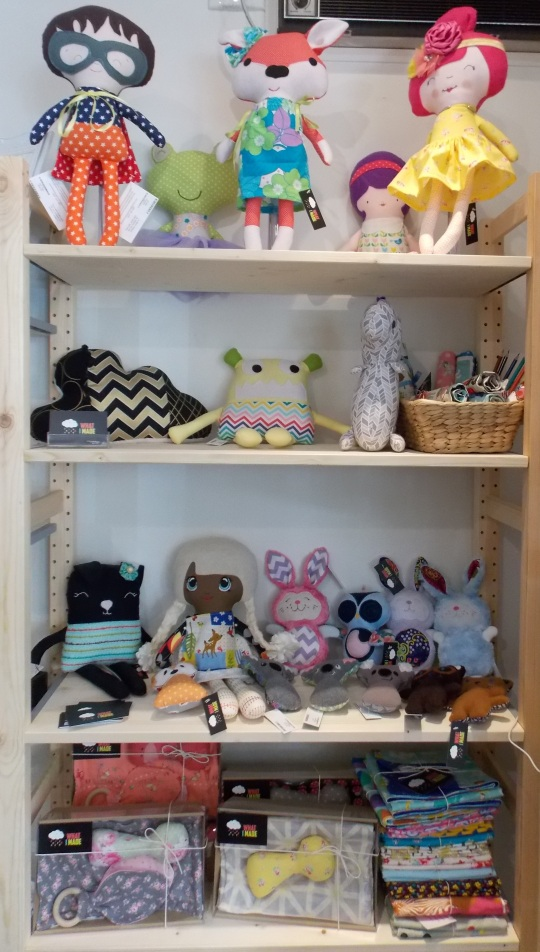 What I Made: an eclectic mix beautiful fabric dolls for kids (and grown-ups!) and terrariums