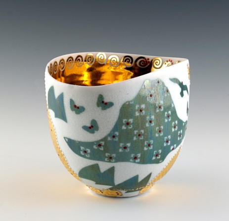 Stunning ceramic bowl by Johanna DeMaine