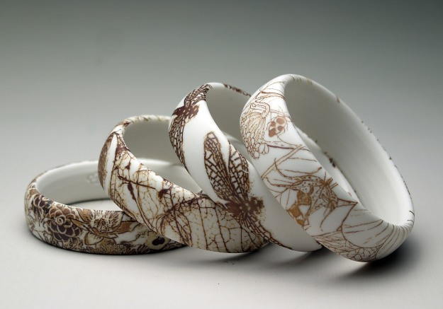 Ceramic jewellery by Mollie Bosworth