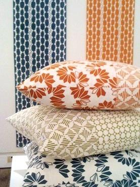 Warm soft furnishings by Megan Jackson