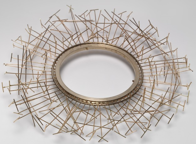 Brenda Ridgewell Space edifice, armband 2002 by Brenda Ridgewell, using 925 silver and 9 carat gold National Gallery of Australia, Canberra Purchased 2003