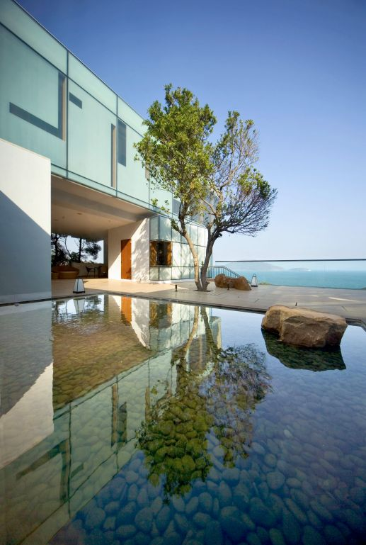 Hong Kong House by Guida Moseley Brown Architects. Image provided by company