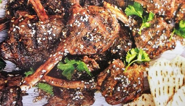 Lebanese lamb cutlets