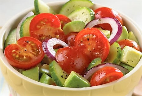 avocado-tomato-cucumber-salad