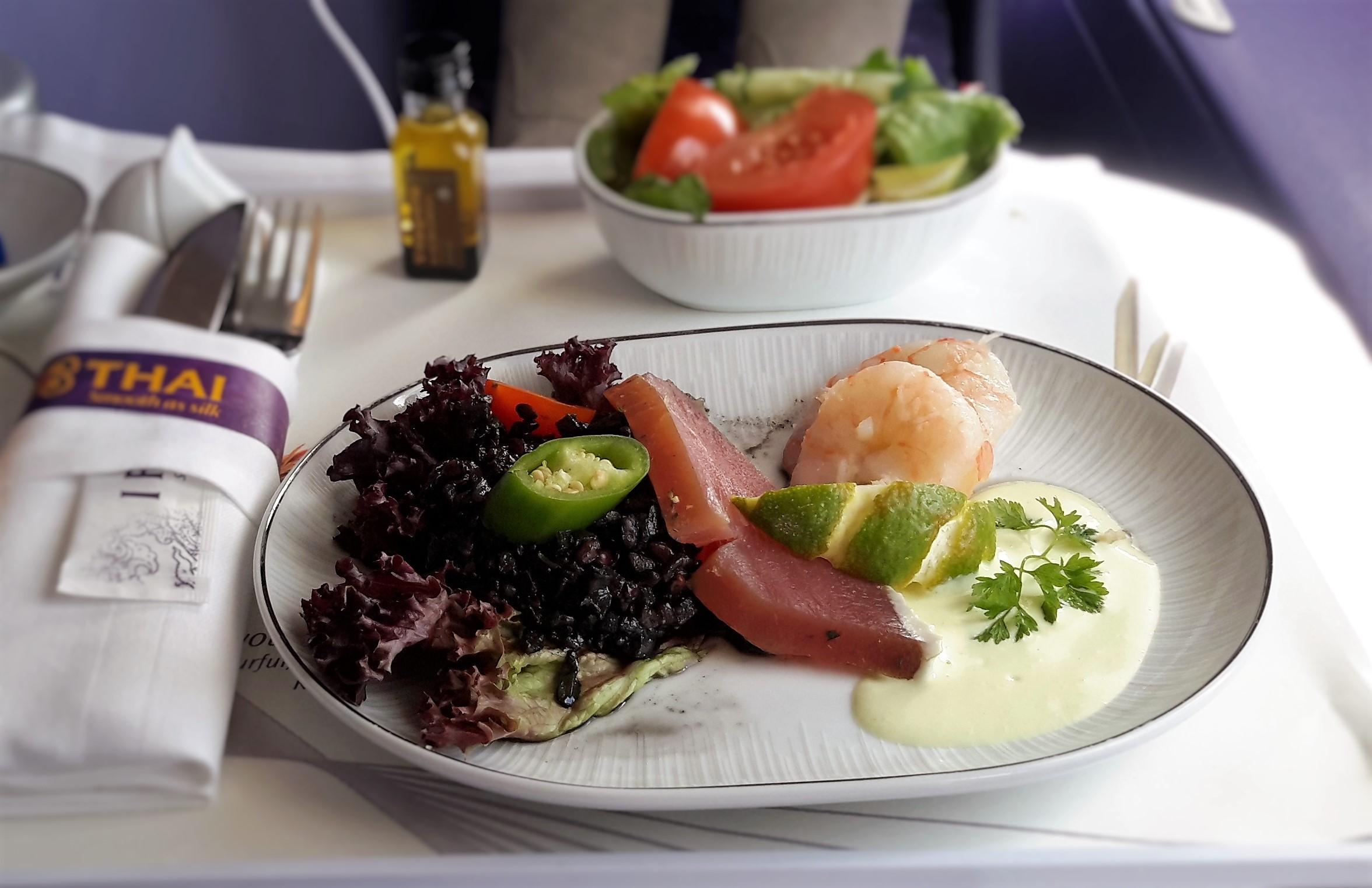 Emirates in flight food lfw magazine for Air thai cuisine