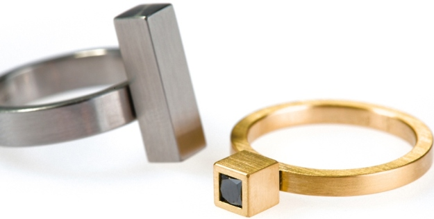 Phoebe Porter_Cantilever and Cubist rings