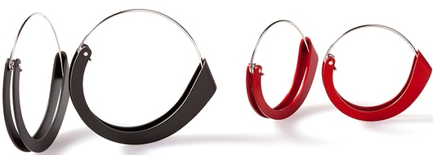 Phoebe Porter_Folded earrings