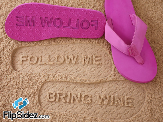 A follow me bring wine on Etsy