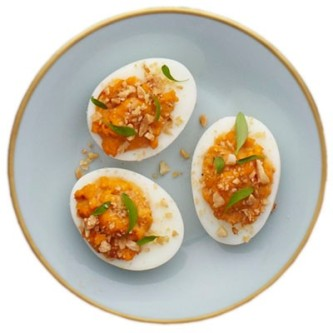 moroccan devilled eggs