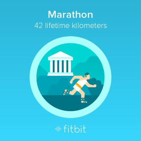 marathon fitbit