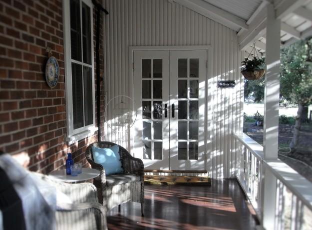 Garden Wing private verandah