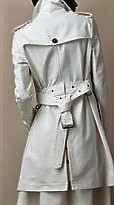 Back tie Trench coat 2