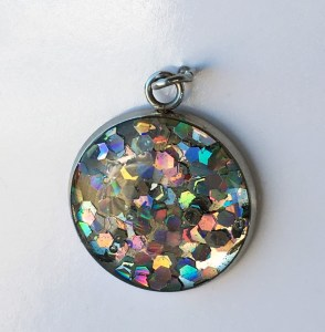 Glitterbomb pendant - image courtesy Glitterbomb