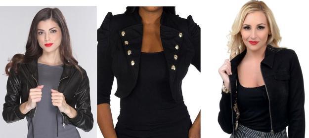 Crop jackets