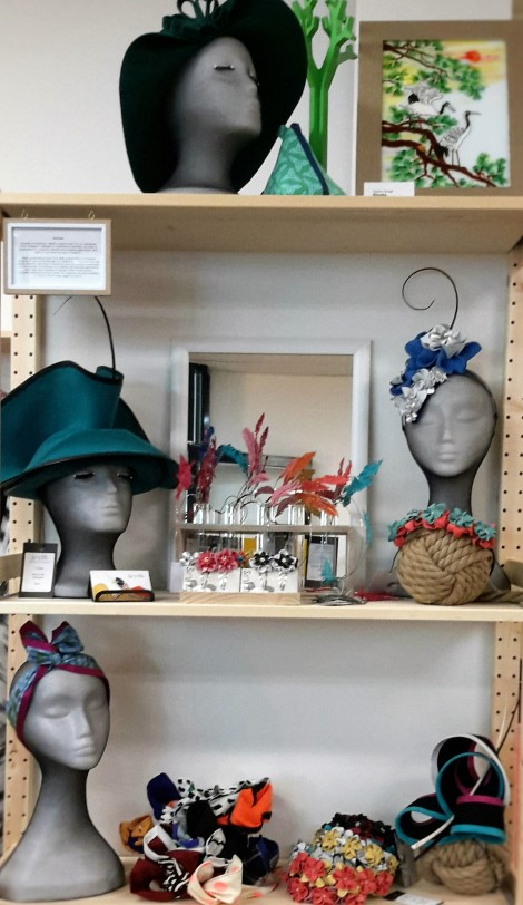 Hats and headpieces by Sovata