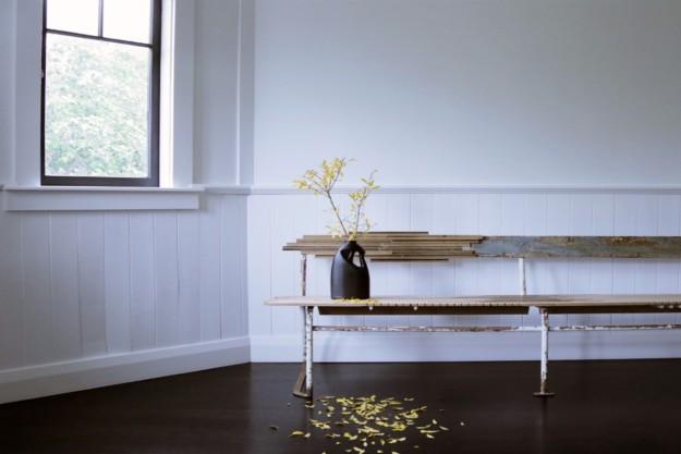 LL Bench Seat, Niklavs Rubenis, Found objects and materials. Photographer: Halie Rubenis.