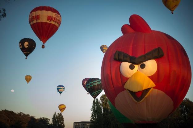Canberra Balloon Spectacular - photo by Martin Ollman