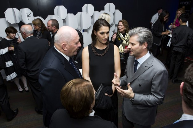 Fashfest co-founders Clint and Andrea Hutchinson with the Governor-General - photo by Red Photography
