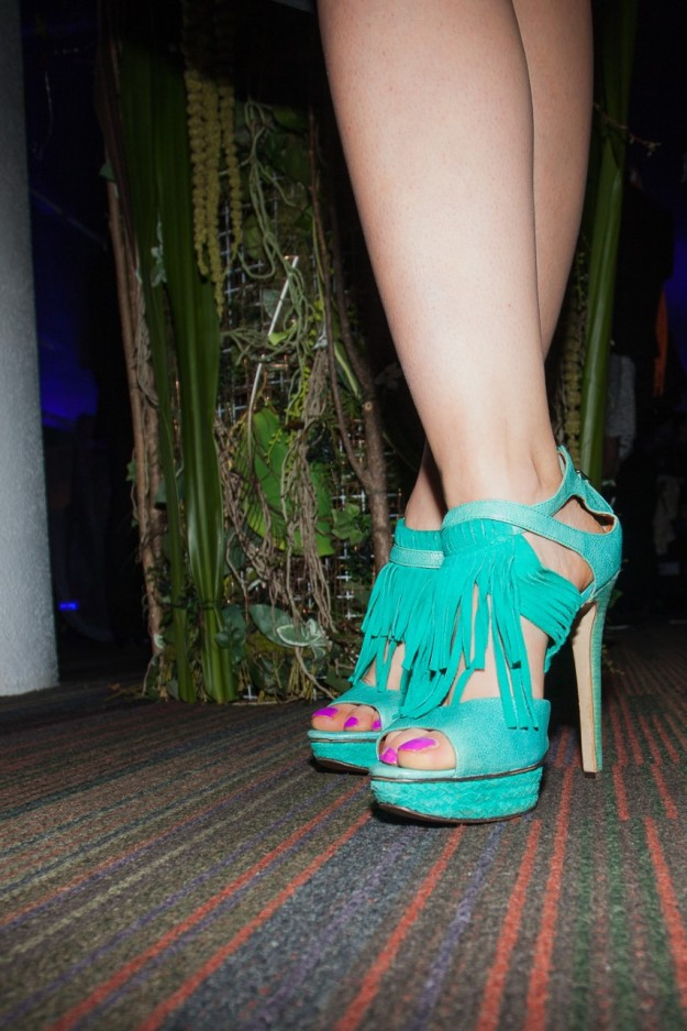 Don't forget the shoes! - photo by David Burke
