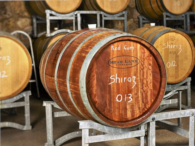 Red gum barrels