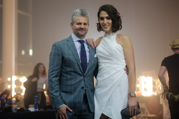 FASHFEST Co-Founders Clint and Andrea Hutchinson - photo by Sparkling Weddings