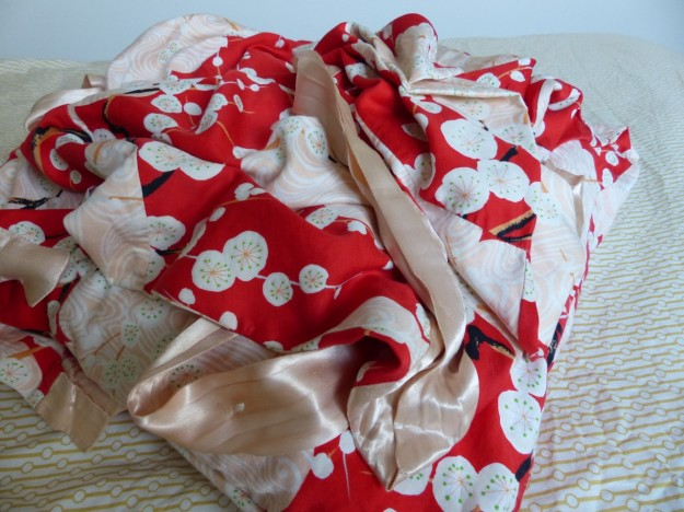 Cotton and Silk kimono