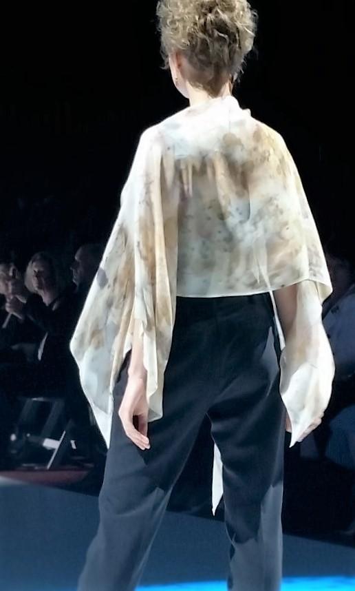 Fashionation - Snowy Textiles by Rasa Mauragis