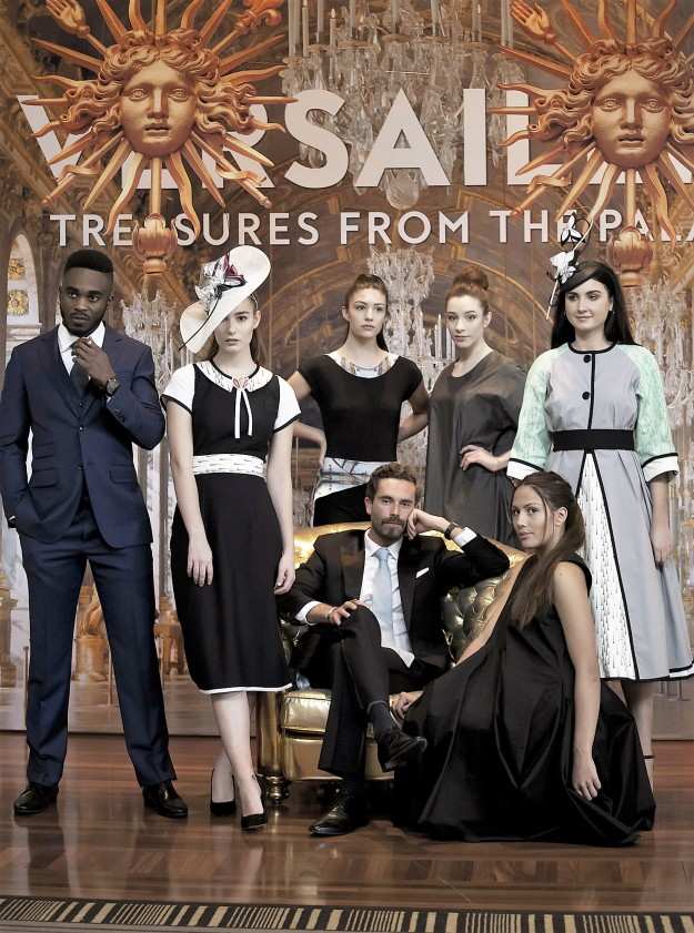 Designers (l-r) Braddon Tailors, Sovata, Zilpah Tart, Karen Lee, Sovata; (seated) Braddon Tailors, Karen Lee