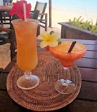 Tropical Mai-tai and Magarita